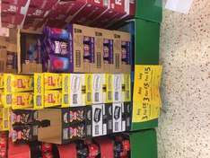 3 for £5 on boxes of chocolates 3 for £10 on big bags  @ Morrisons