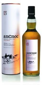 anCnoc 12 Year Old Highland Single Malt Whisky, 70 cl £25 instore @ M&S
