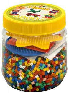Hama Beads and Pegboards in Tub (Yellow) £5.32 @ Amazon W/Prime