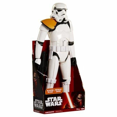 """Storm trooper comander 18""""  at tesco direct £ 9.24"""