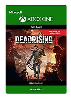 Dead rising 4 Xbox one full game download @ Amazon £16.50 each for gamesharers!