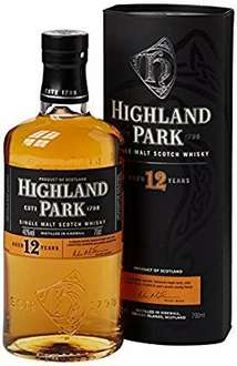 Deal Of The Day Highland Park 12 Year Old Orkney Malt Whisky Bottle, 70 cl  £21.99 @ Amazon