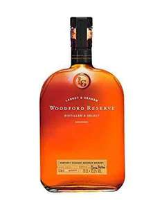 Woodford Reserve Bourbon Whiskey, 70 cl £19.99 Prime / £24.74 Non Prime @ Amazon