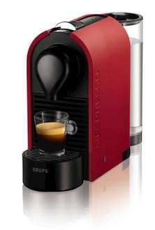 Krups Nespresso U machine with £45 Nespresso club credit was £130 now £70 free next day click & collect and £5 voucher or free delivery @ Debenhams
