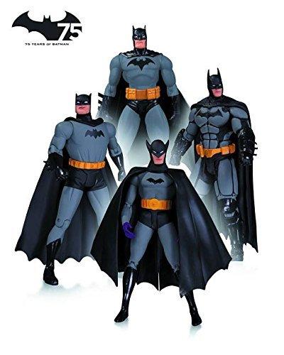 Batman 75th Anniversary Action Figure 4 Pack £30 @ B&M