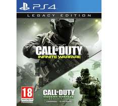Call Of Duty Infinite Warfare Legacy Edition for PS4&XB1 £44.99  from Argos (only £40.49p with quidco cashback)