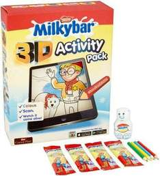Milkybar 3d activity pack £1 prime exclusive @ amazon pantry plus £2.99 delivery