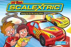 Micro Scalextric 1:64 Scale My First Racing Set £15.66 Prime or £20.41 non prime @ Amazon