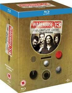 Warehouse 13: The Complete Series 1-5 [Blu-ray] [Region Free] £17.99 @ Zavvi (also included in buy 2 get 10% off code: BOXSET210)
