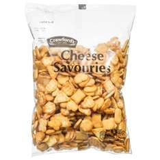 Crawford's Cheese Savouries 350g 99p @b&m