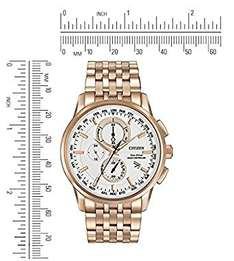 [Amazon Prime Members exclusive] Only 2 left in stock (more on the way): Citizen Eco-Drive AT8113-55A Radio Controlled Rose Gold £179.20