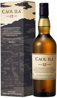 Caol Ila 12 Year Old Whisky, 70 cl Amazon £26.99