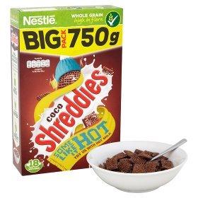 Nestle Shreddies & Coco Shreddies Cereals (750g) was £3.38 now £2.00 (Rollback Deals) @ Asda