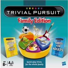 Trivial Pursuit Family Edition (8+) was £30.00 now £16.00 @ Sainsbury's