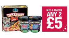 pizza & icecream - Chicago town pizza and a tub of Ben & jerrys ice cream £5 @ Tesco