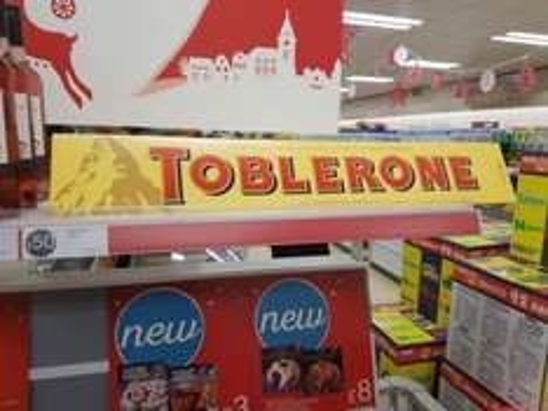 4.5kg jumbo toblerone £50 @ Iceland