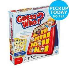 Guess Who? Re-Invention Board Game now only £7.50 @ Argos Ebay Outlet