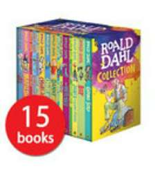 Roald Dahl 15 books collection £17.79 Delivered (with codes) @ The Book People