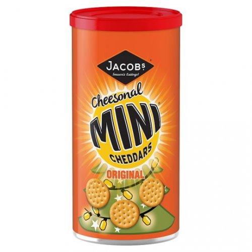Cheesonal Mini Cheddars Original 260g Drum/Caddy 99p @ Home Bargains (£2 in Tesco)