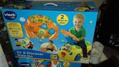 Sit And Discover Ride On Was 40.00 Now 25.00 @ Wilko