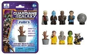 Guardians of the galaxy yubi's finger puppet 29p each @ Home Bargins