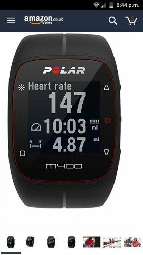 polar m400 with chest stap - £88.90 @ Amazon