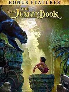 The Jungle Book HD (2016) (with bonus features) @ Amazon Video - £3.99