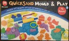 Quicksand mould & play 70 pieces £11.96 in Costco