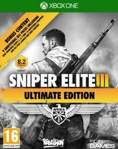 Sniper Elite Xbox One. New - £15.99 @ Zavvi