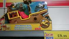 Jake and the neverland pirates - pirate bucky adventure @ home bargains for £9.99
