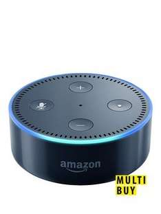 2 x Amazon Echo Dot for £74.98 @ Very