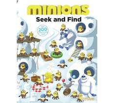 Minions Seek and Find reduced from 3.99 to 99p at Argos... handy stocking filler