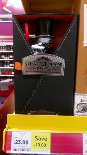 Jack Daniels Gentleman Jack 70cl instore £23 Tesco's