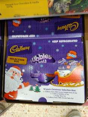 Cadbury Pots Selection Box (10 Pots) £3 @ Morrisons