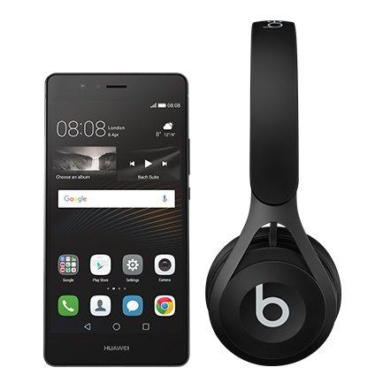 Huawei P9 lite Black + Beats EP Headphones.. From EE
