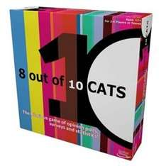 8 Out Of 10 Cats Board Game £7.26 C+C @ TescoDirect (£10.36 delivered)