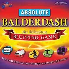Great prices on family board games Tesco Direct click & collect £6.93 Absolute Balderdash
