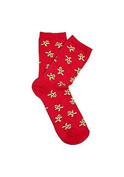 Ladies Christmas Socks £1 each and 3 for 2 Tesco
