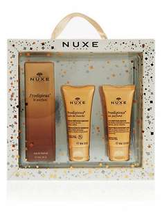 Nuxe Perfume Gift set 50% off, regular perfume on its own at £28.00 Bargain - £12.50 M&S