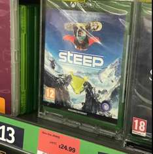 [Xbox One/PS4] Steep-£24.99 (Sainsbury's Instore)