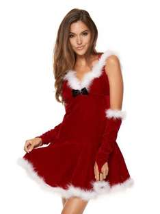 In case you haven't got your girlfriend or wife her present yet - Ann Summers Miss Hooded Santa Dress £12.50 @ Ann Summers ebay