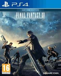 Final Fantasy XV Day One Edition £34.99 @ GAME