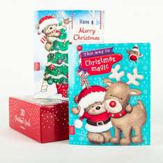 Christmas 30 cards box for just 99p @ card factory