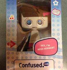 Miss.Herbert of Confused.com £1.99 @ Home bargains