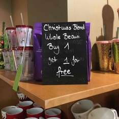 Starbucks Christmas Blend Beans Buy One Get One Free Instore £4.95