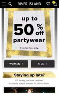 River Island – Fashion Clothing for Women, Men, Boys and Girls up to 50% off