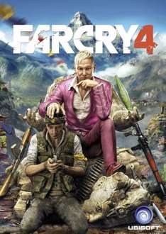 Far Cry 4 Gold Edition PC Game code £18.79 (Prime) on Amazon cheaper than UPlay sale