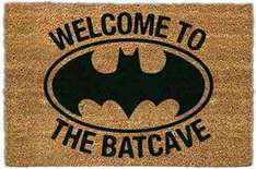 Welcome To The Batcave doormat £10 at B&Q