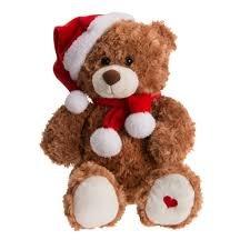 31cms Battery Operated Talk Back Teddy Bear Christmas Friend Animation £8 @ B&Q