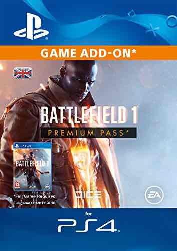 Battlefield 1 PREMIUM PASS  £31.99 @ Amazon - PS4, XBOX,PC.
